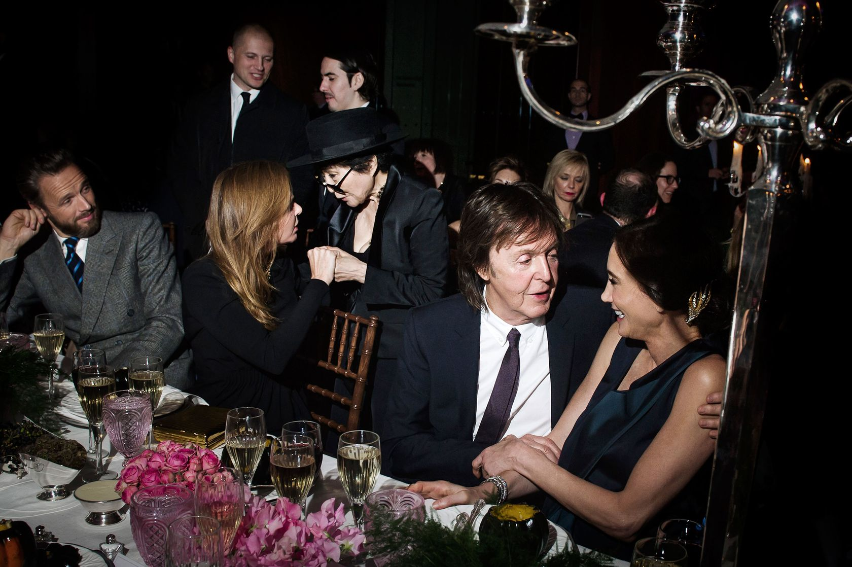 Month Of 1000 Parties Stella McCartney Left Yoko Ono Sir Paul And Nancy Shevell
