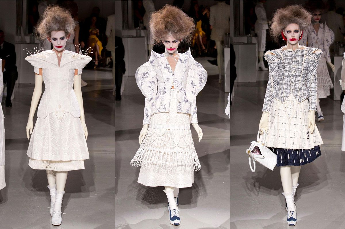 Image result for Thom Browne asylum fashion