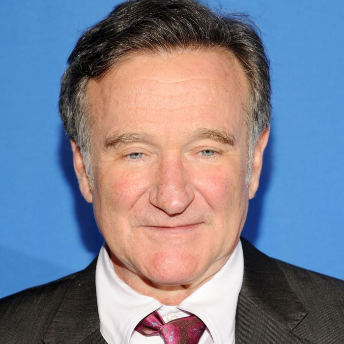 NEW YORK, NY - MAY 15: Robin Williams attends CBS 2013 Upfront Presentation at The Tent at Lincoln Center on May 15, 2013 in New York City. (Photo by Ben Gabbe/Getty Images)
