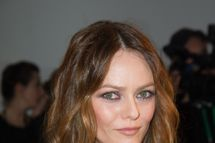 Vanessa Paradis attends the Sidaction Gala Dinner 2012, at Pavillon d'Armenonville in Paris.