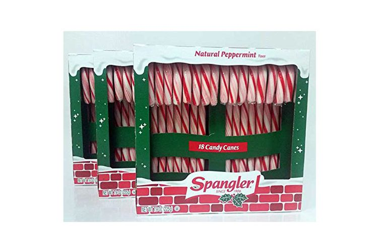 Peppermint Candy Canes, 3 18-Count Boxes