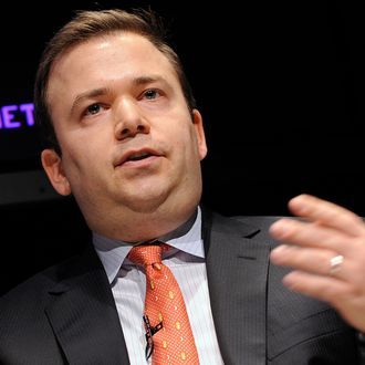 Boaz Weinstein, founder and chief investment officer Saba Capital Management LP, speaks at the Bloomberg via Getty Images Hedge Funds Summit