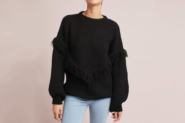 Andover Fringed Pullover