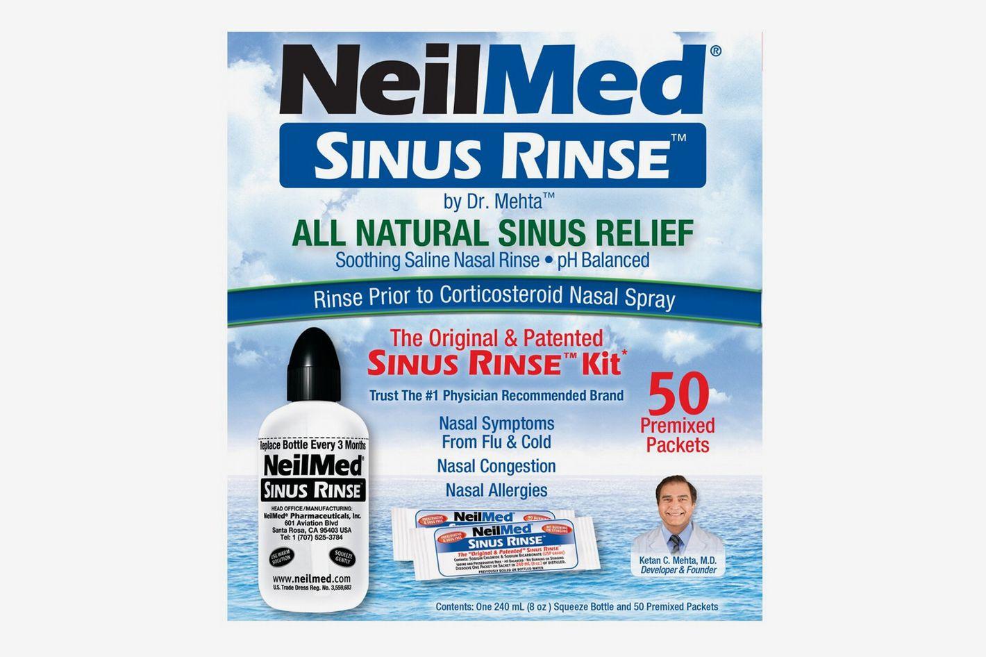 NeilMed Sinus Rinse Kit 50 count (Pack of 2)