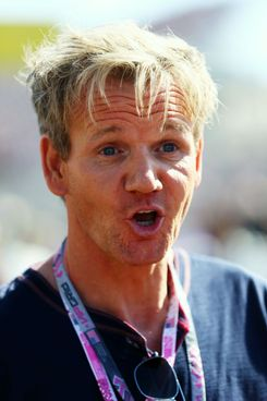 Celebrity chef Gordon Ramsay attends the United States Formula One Grand Prix at the Circuit of the Americas on November 18, 2012 in Austin, Texas.