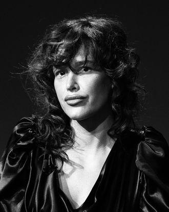 Actress Paz de la Huerta.