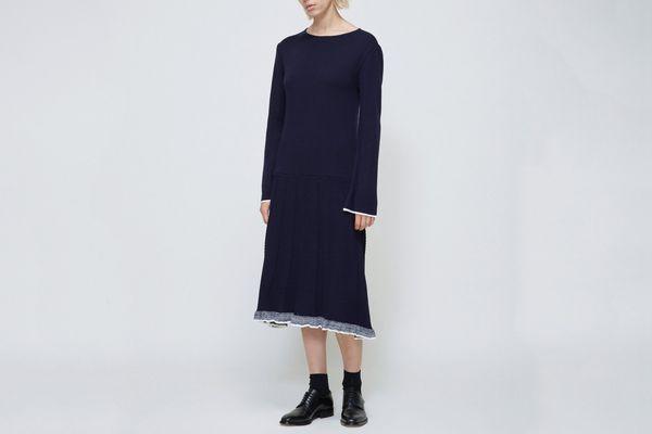Low Classic Long Sleeve Sweater Dress