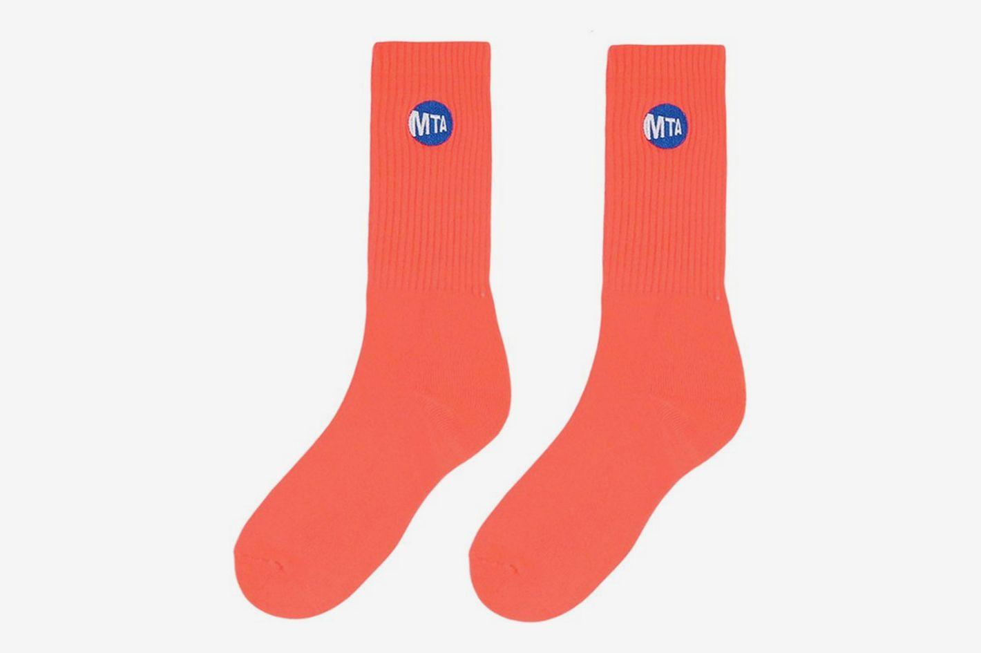 OnlyNY MTA Logo Sock