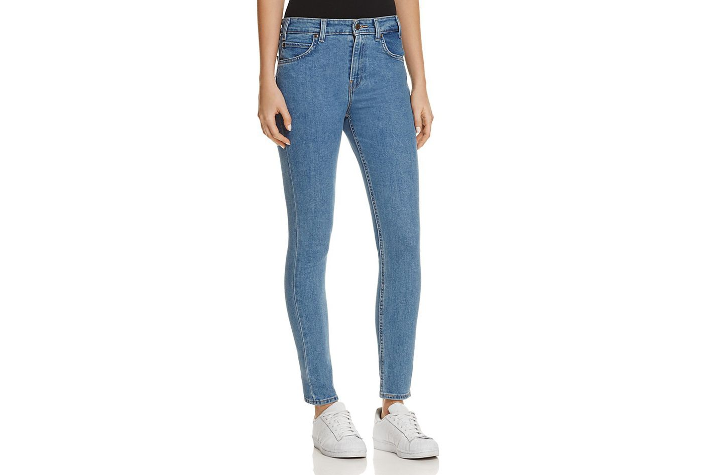 Levi's Orange Tab 721 High Rise Skinny Jeans in Watermark