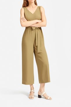 Everlane Japanese GoWeave Essential Jumpsuit