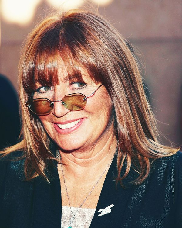 5c321222cd Penny Marshall Made Tiny Glasses Her Signature Before They Were Cool