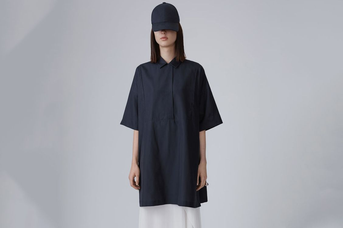 Sena Poplin Shirt Dress