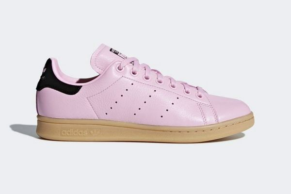 Adidas Stan Smiths in Wonder Pink and Black