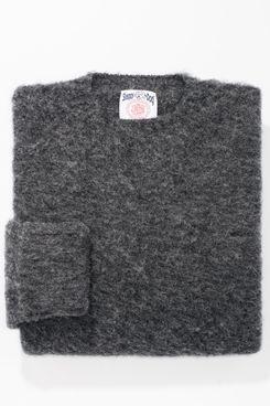 J. Press Shaggy Dog Classic Fit Sweater, Grey