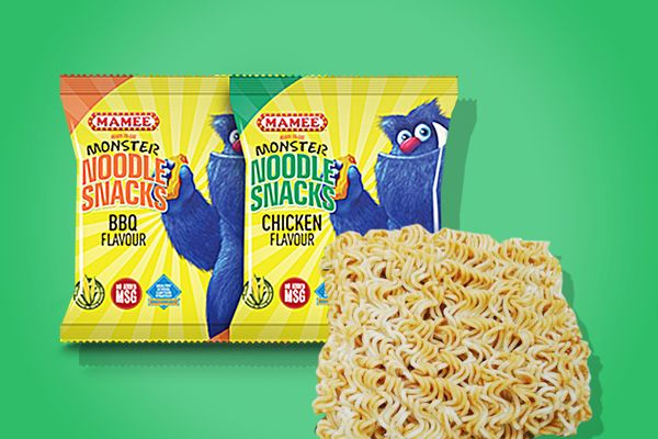 Mamee Monster Noodle Snack (Chicken Flavor)