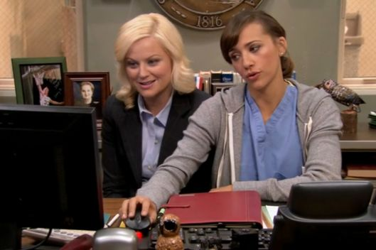 Parks and rec online dating