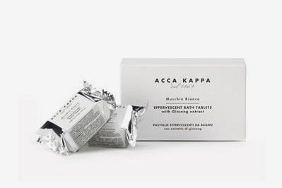 Acca Kappa Bath Tablets White Moss [6 Pieces]