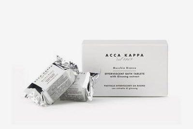 Acca Kappa Bath Tablets White Moss [6 Pieces]