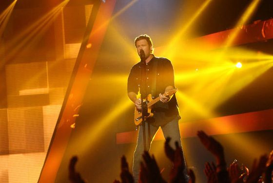"THE VOICE -- ""Blind Auditions"" Episode 401 -- Pictured: Blake Shelton -- (Photo by: Adam Taylor/NBC)"