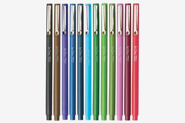 Marvy (4300S-12pk) Le Pen, 12 Color Set, Dozen (Micro Fine Point)