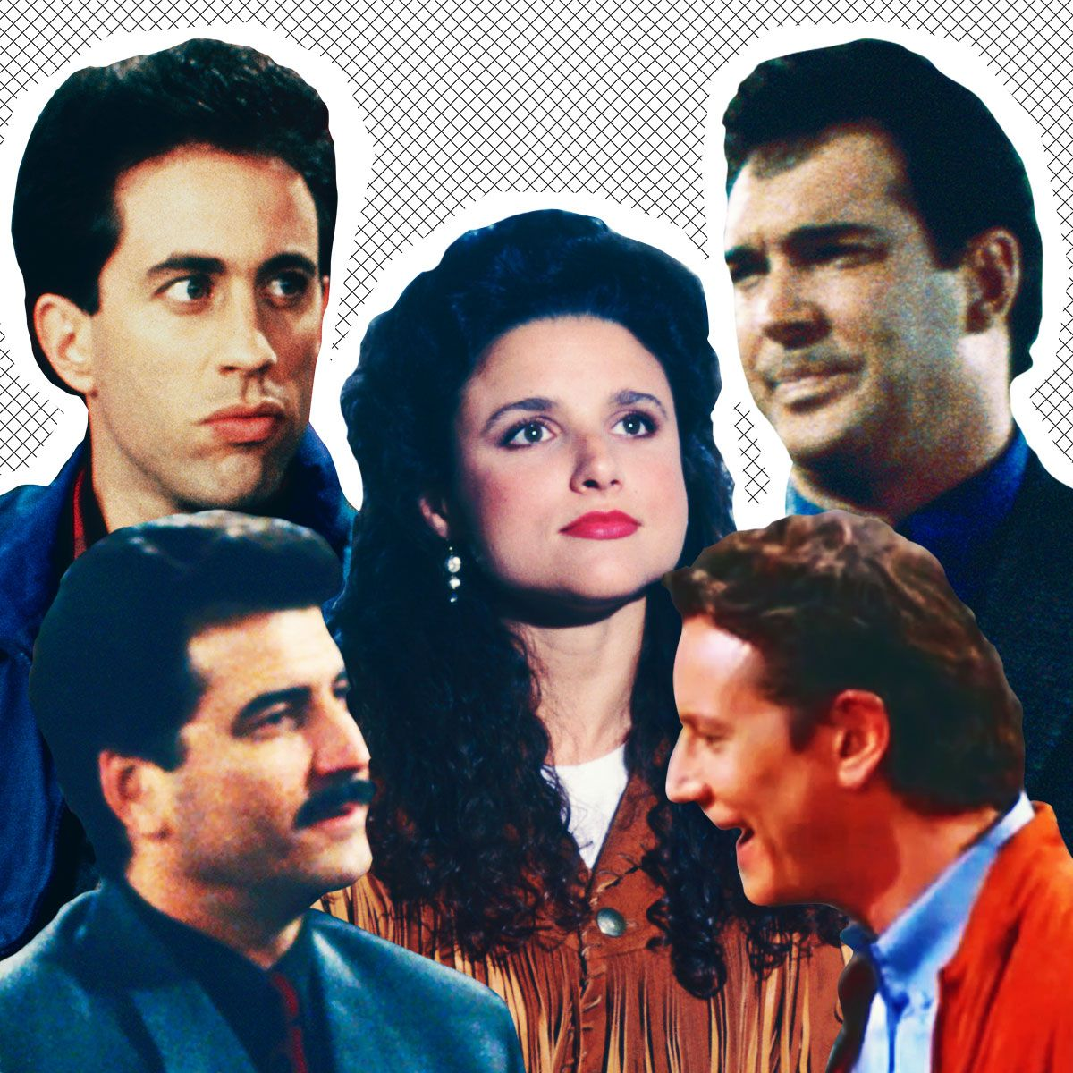 A Guide to Elaine Benes's 29 Boyfriends on Seinfeld