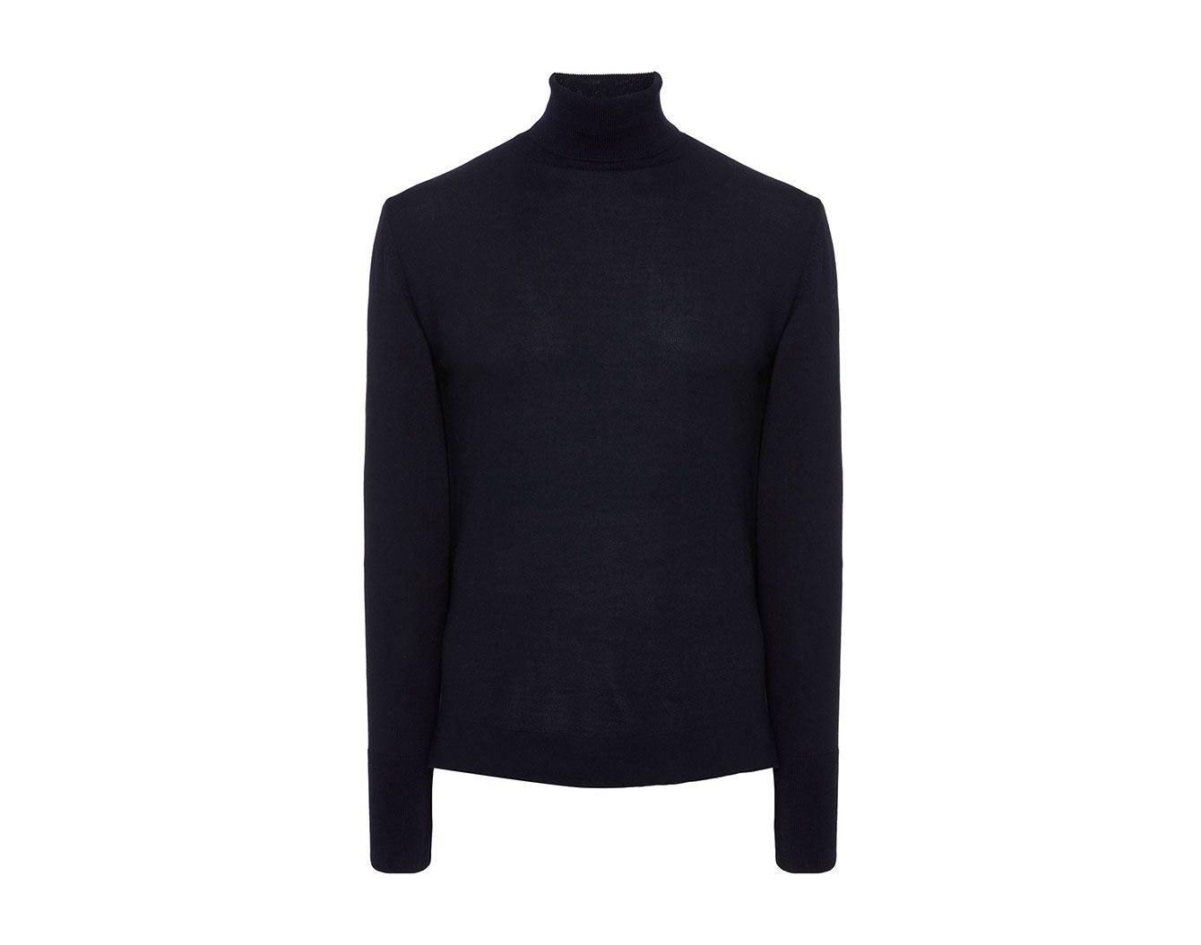 Officine Générale Merino Wool Turtleneck Sweater