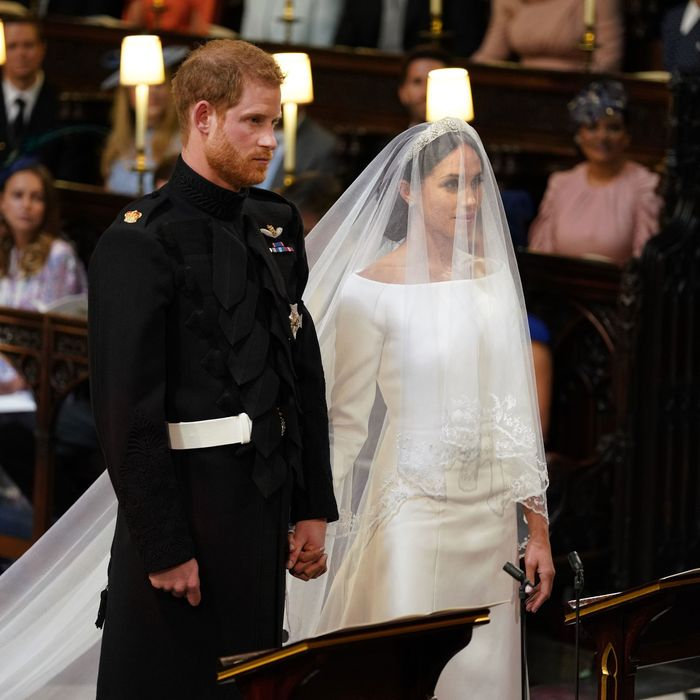 773a0ef91dd Prince Harry and Meghan Markle at their wedding.