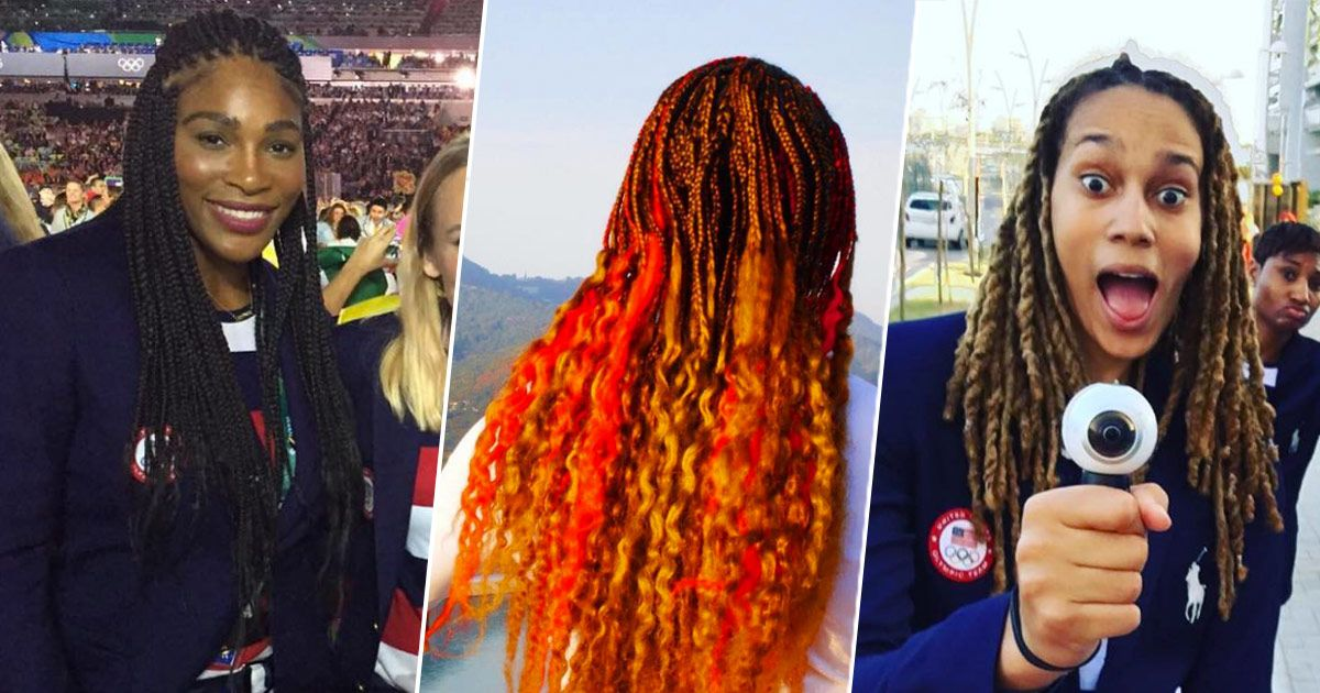All Of The Beautiful Twists And Braids At The Olympics