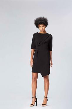 find. Women's Drape Hem Shift Dress