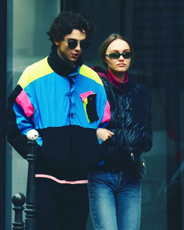 166d6ff74ef0 Timothée Chalamet and Lily-Rose Depp Are Just So Beautiful