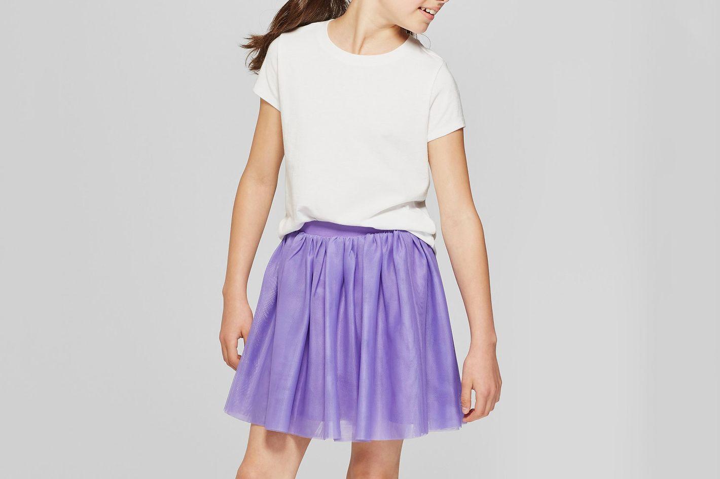 Girls' Short Sleeve T-Shirt - Cat & Jack