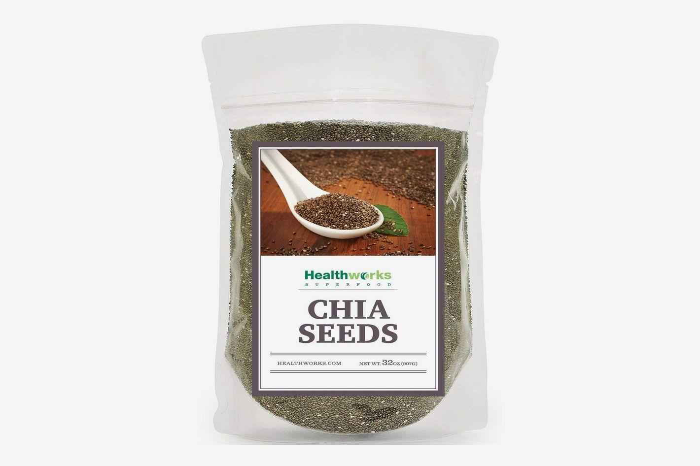 Healthworks Chia Seeds Raw Pesticide-Free, 2lb
