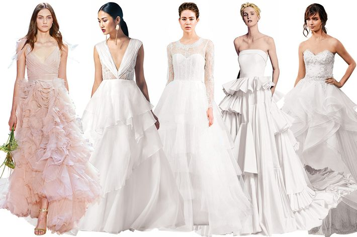 Classic Wedding Gowns 50 Perfect Photo Courtesy of Designers