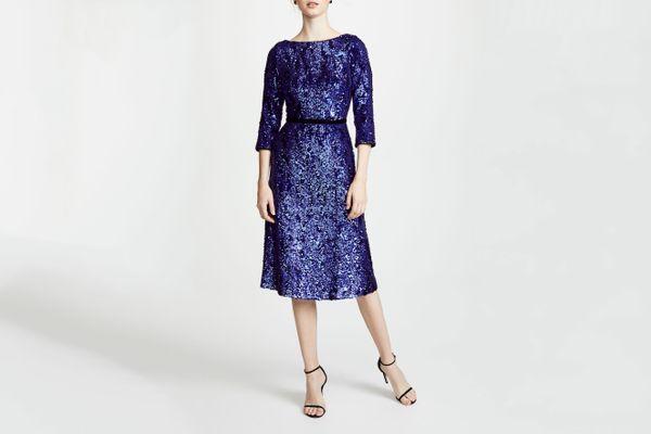 Marchesa Notte Sequin Dress