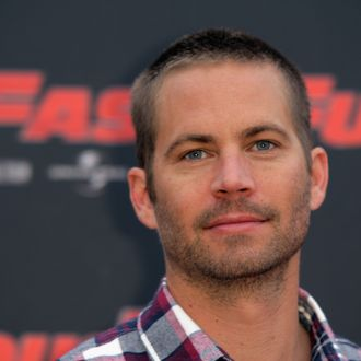 ROME, ITALY - APRIL 29: Paul Walker attends the