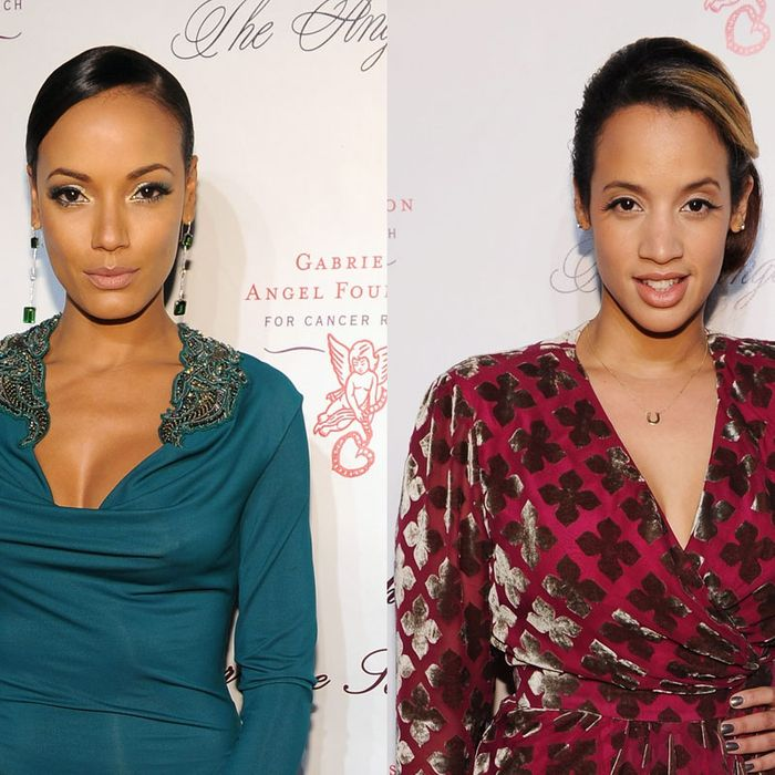 Selita Ebanks and Dascha Polanco.