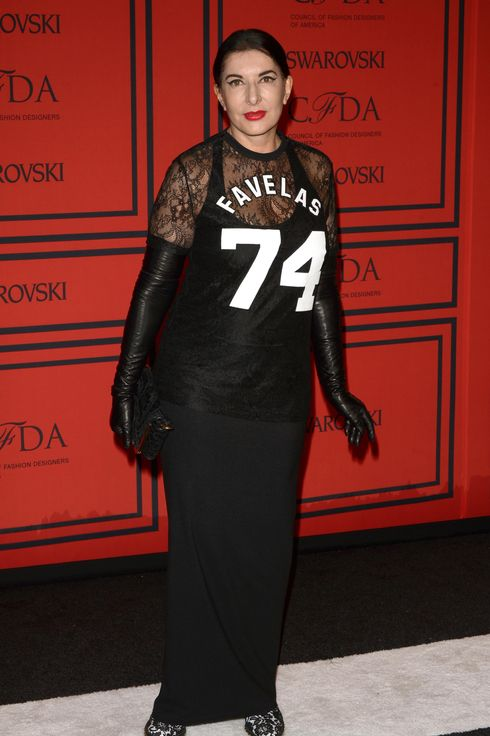 Artist Marina Abramovic attends 2013 CFDA Fashion Awards at Alice Tully Hall on June 3, 2013 in New York City.