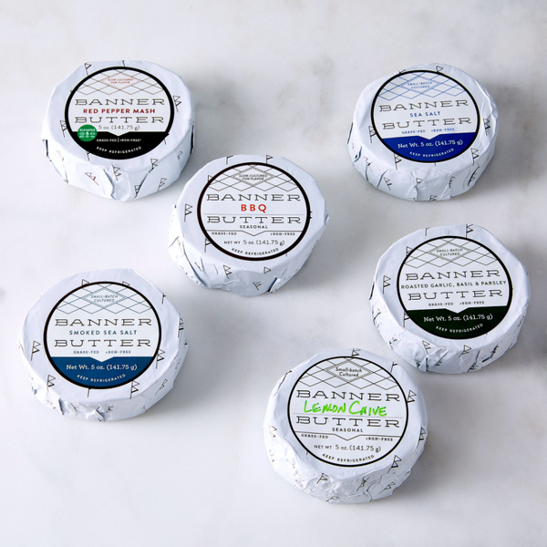 Banner Butter Grass-Fed Grilling Butters (6-Pack)