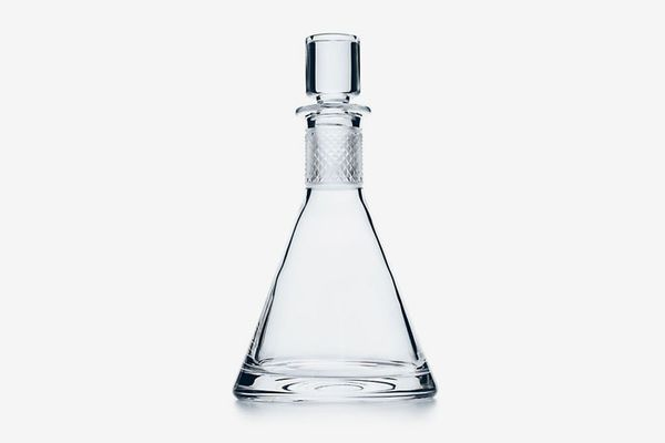Diamond Point: Conical Decanter