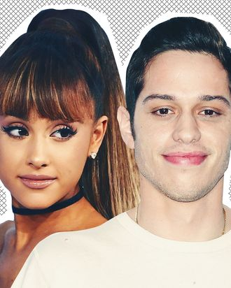 Ariana Grande, Pete Davidson.