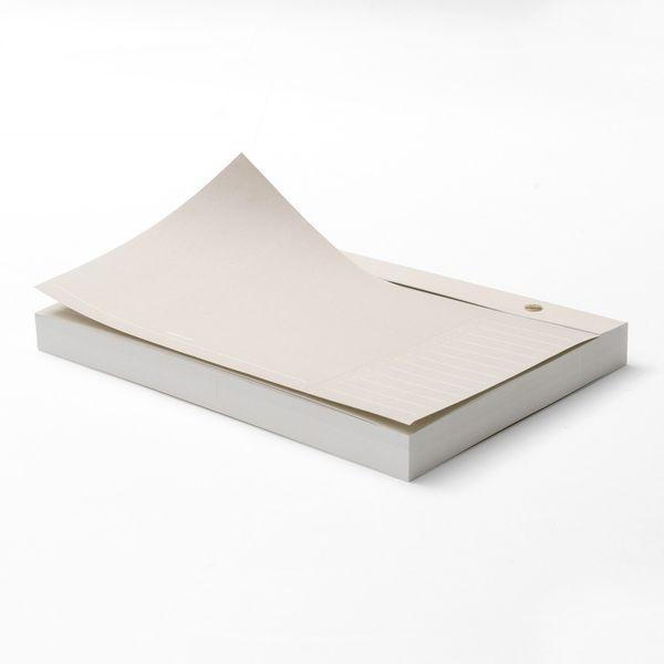 Russell + Hazel Paper Bloc Notepad in Bone