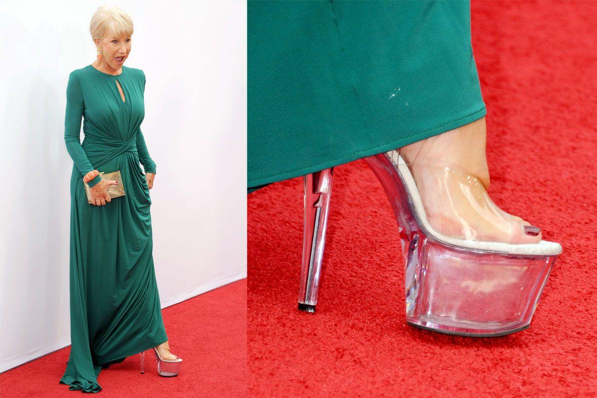 To Discuss: Helen Mirrens Stripper Shoes