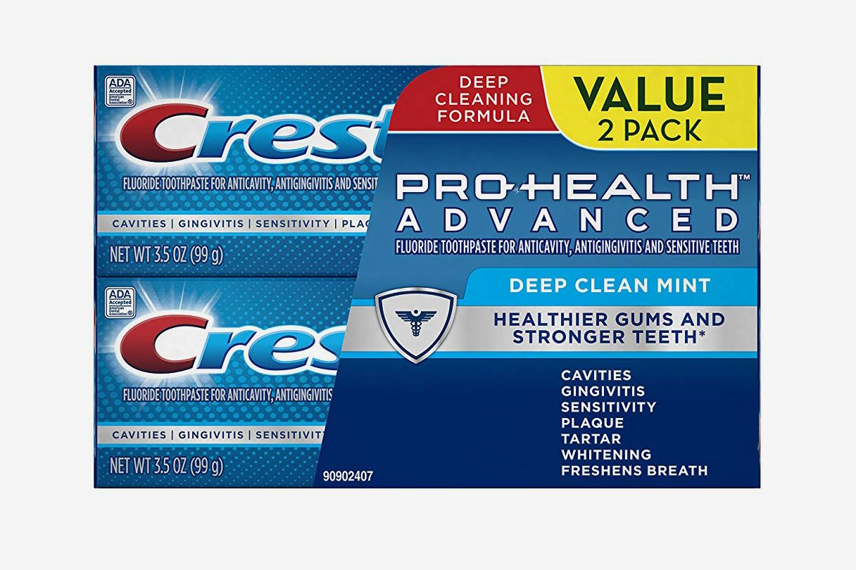 Crest Pro-Health Advanced Deep Clean Mint Toothpaste, 3.5 oz (2 Pack)