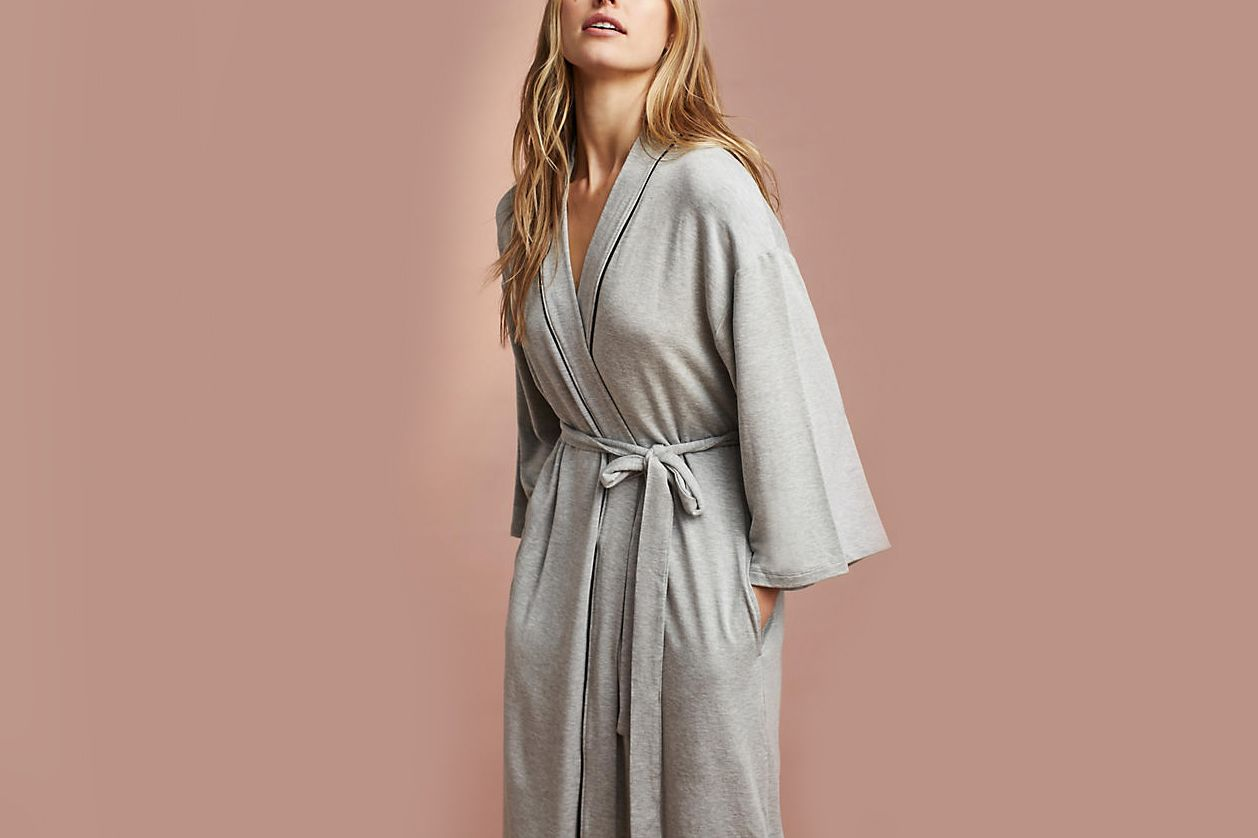 Beyond Yoga Namaste Wrapped Robe