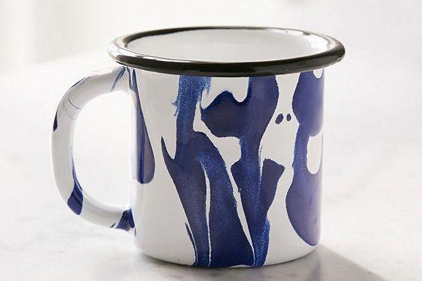 BORNN Marble Enamelware Mug