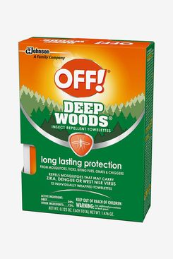 OFF! Deep Woods Mosquito and Insect Repellent Towelettes