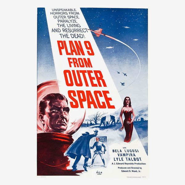 Plan 9 from Outer Space (1959) directed by Ed Wood