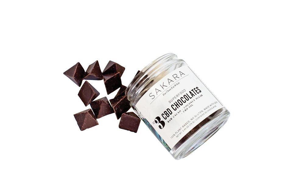 CBD Chocolates Trio (3 jars)