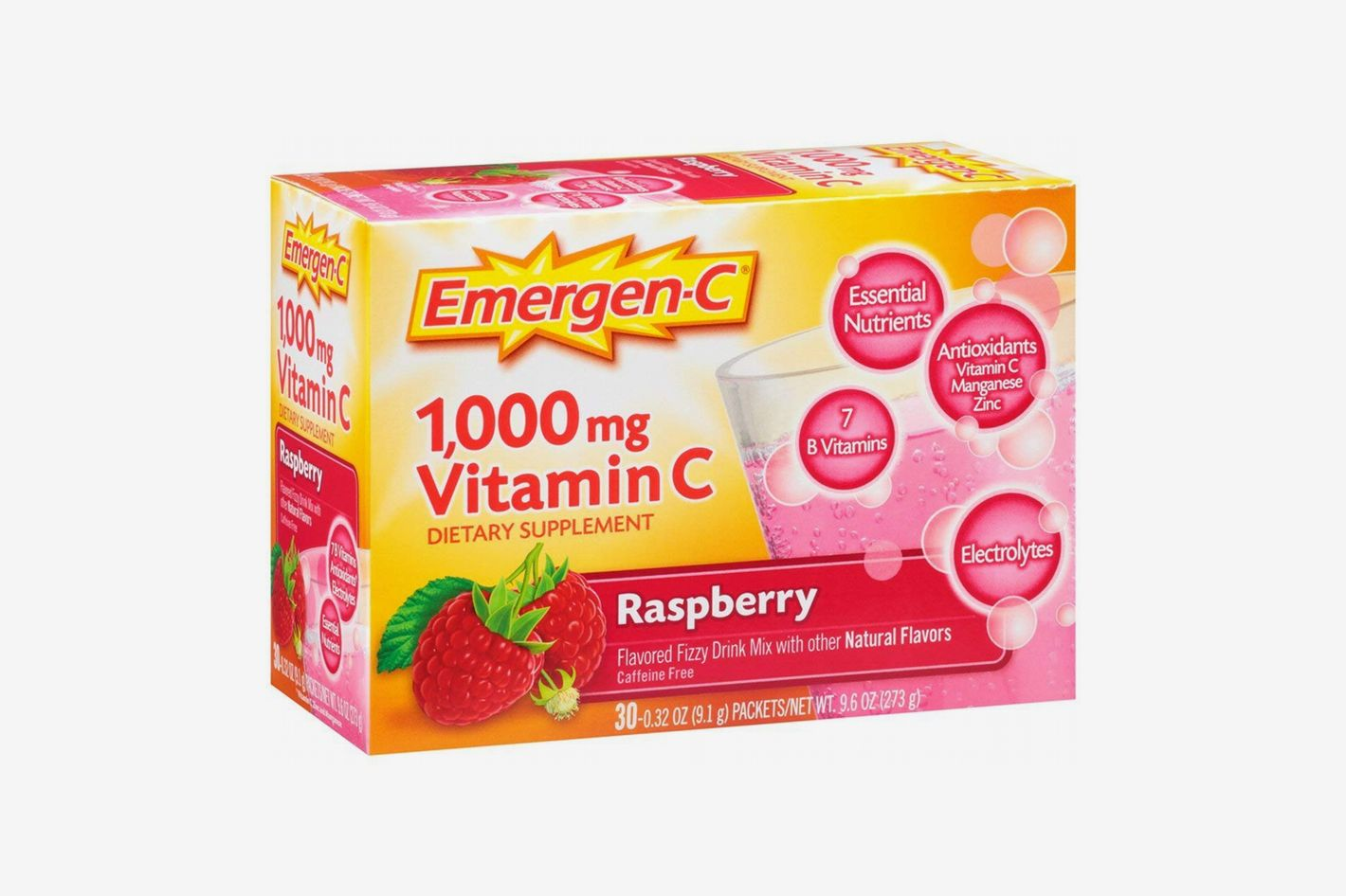 Emergen-C Dietary Supplement Fizzy Drink Mix With 1000mg Vitamin C
