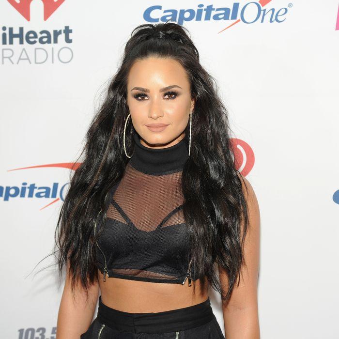 Demi Lovato on December 13, 2017.